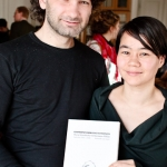 Hermann Niklas and Maria Seisenbacher with newest publication _Konfrontationen_