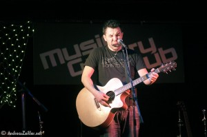 Peter Smolarik at Music Gallery Club in Bratislava - 2013